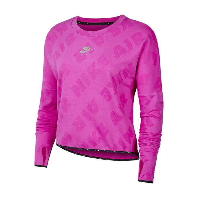 Nike Air Women's Long-Sleeve Running Top - Pink