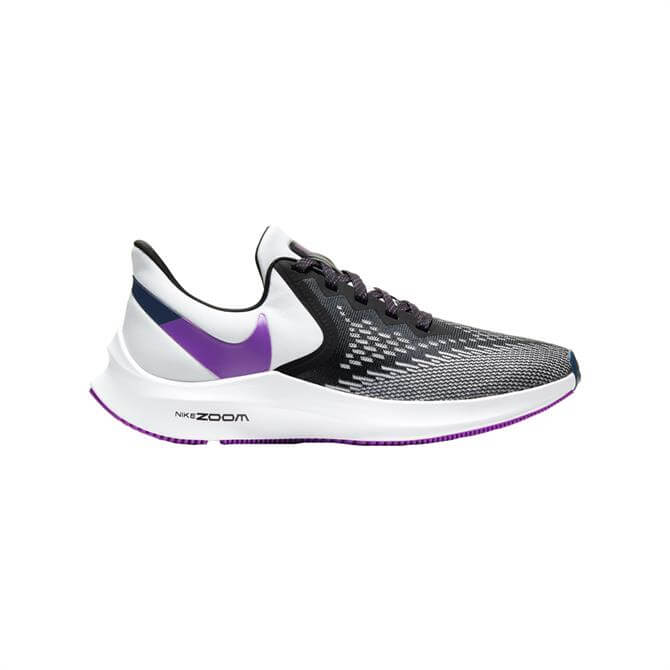 Nike Air Zoom Winflo 6 Women's Running Shoe - White/Purple