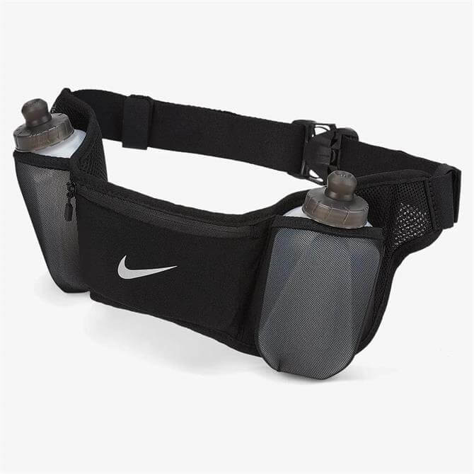 Nike Double Pocket Flask Belt - Black