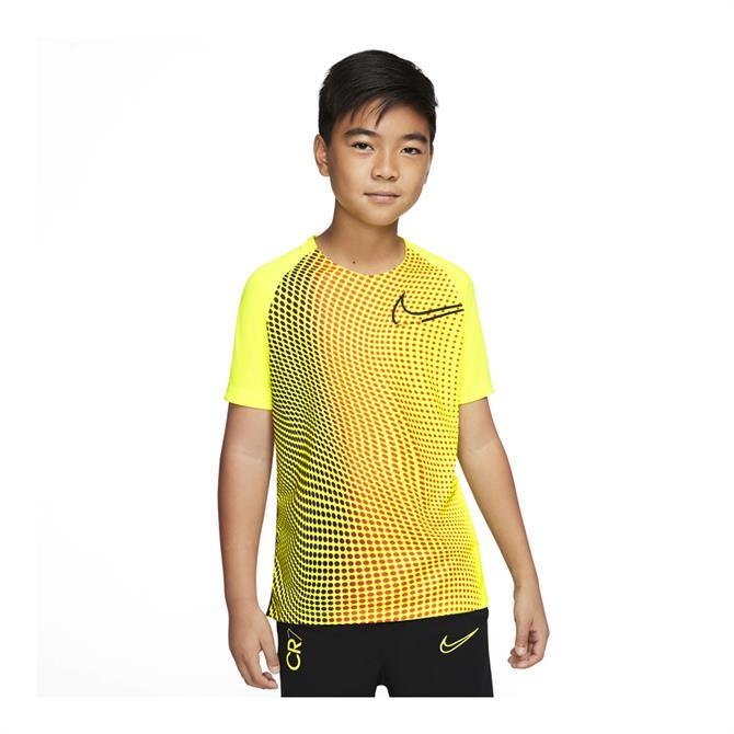 Nike Dri-FIT CR7 Kids' Football Top - Yellow
