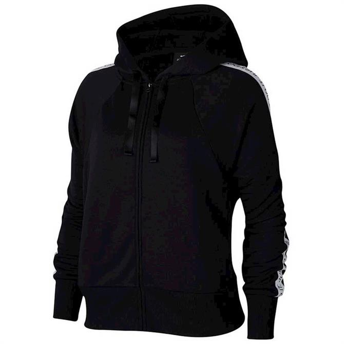 Nike Get Fit Women's Fleece Training Hoodie - Black