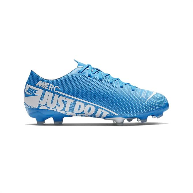 Nike Junior Mercurial Vapor 13 Academy MG Football Boot - Blue