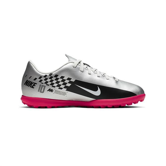 Nike Jr. Mercurial Vapor 13 Club Neymar Jr. TF Football Boot - Chrome