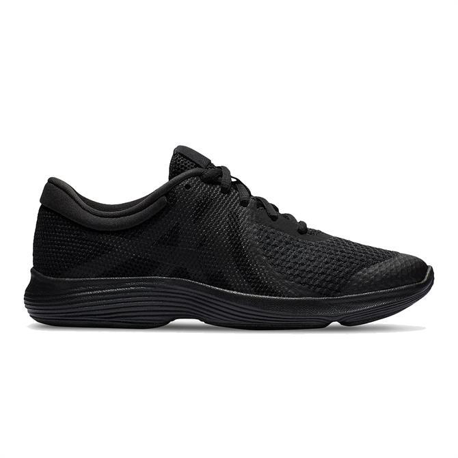 Nike Revolution 4 Junior Trainer - Black