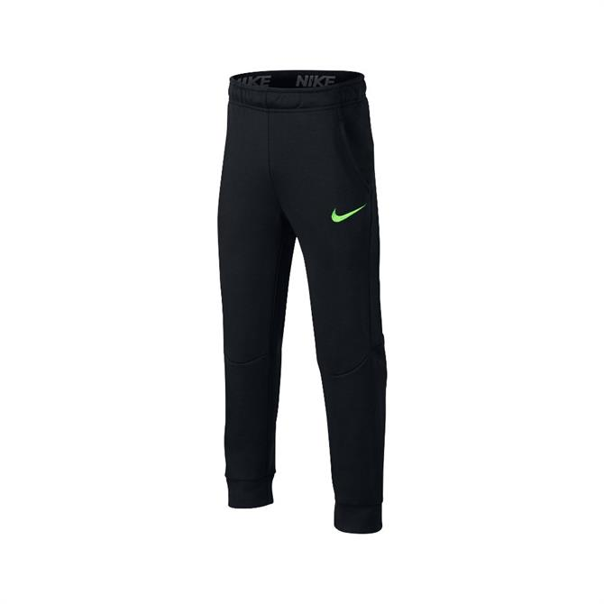 Nike Kids' Dri-FIT Training Pants - Black/Lime