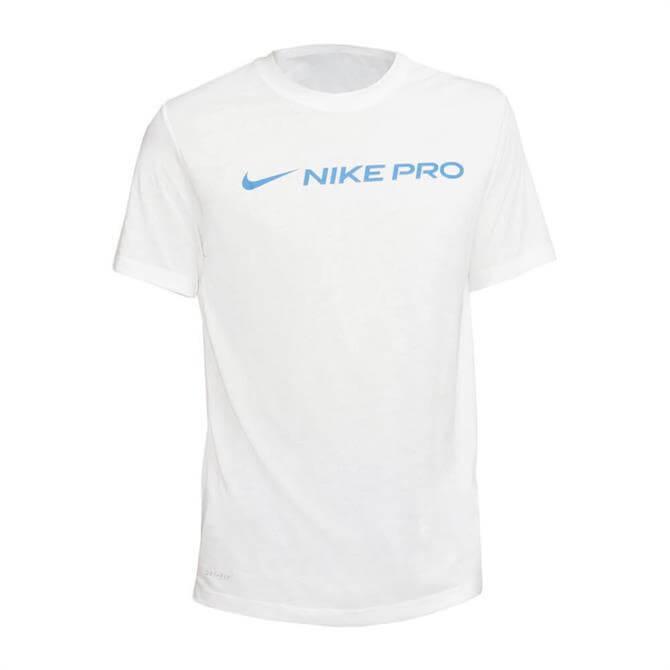 Nike Men's Pro Training T-Shirt - White