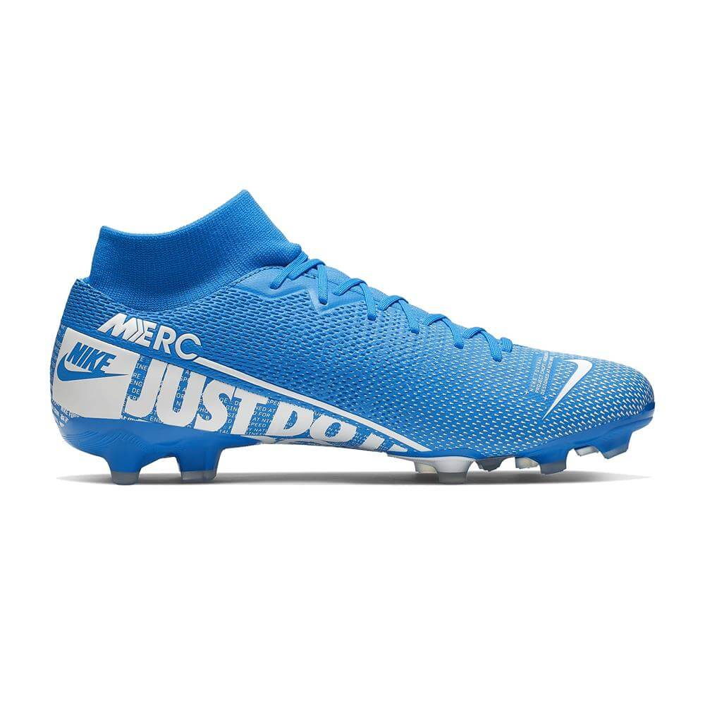 hot sale online 40974 405aa Nike Mercurial Superfly 7 Academy MG Football Boot - Blue/White