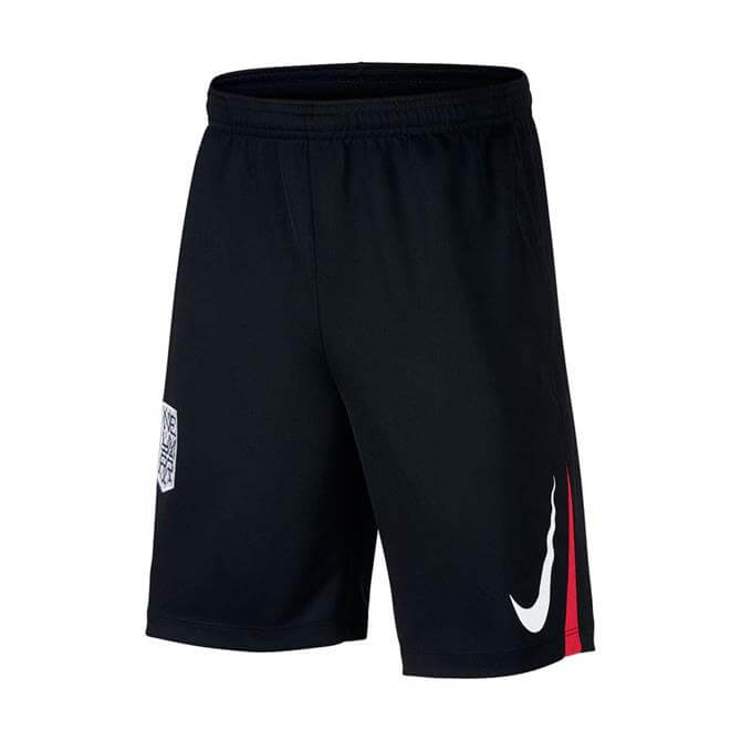 Nike Kid's Neymar Jr. Football Shorts - Black/Red