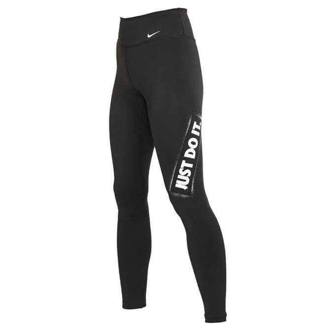 Nike One Women's Just Do It Tights - Black
