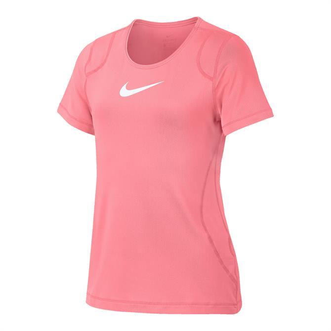 Nike Pro Girls' Training Top - Pink