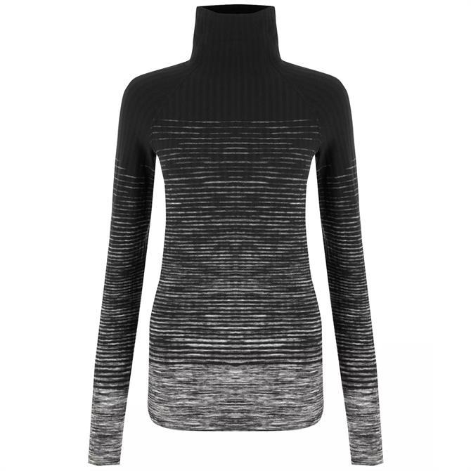 Nike Women's Pro Hyperwarm Training Top - Dark Grey