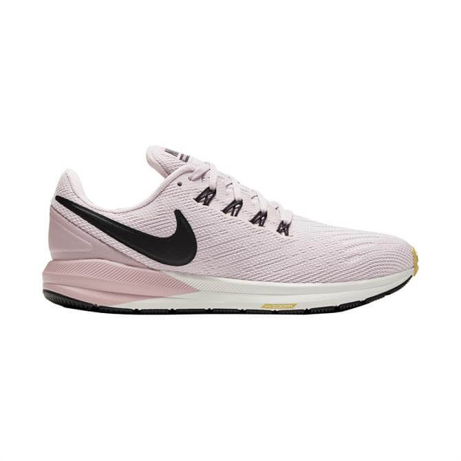 Nike Women's Air Zoom Structure 22 Running Shoe - Pink/White
