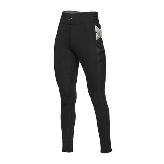 Nike Women's Pro AeroAdapt Tight - Black