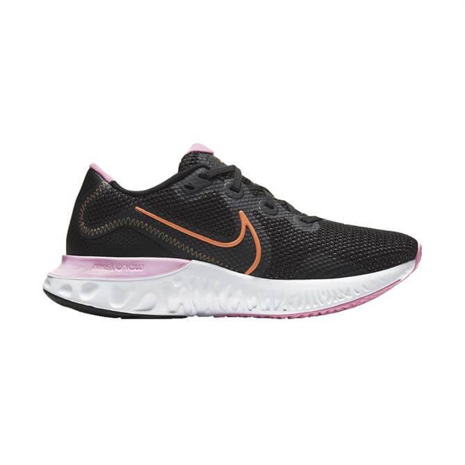 Nike Renew Run Women's Running Shoe - Black/Pink