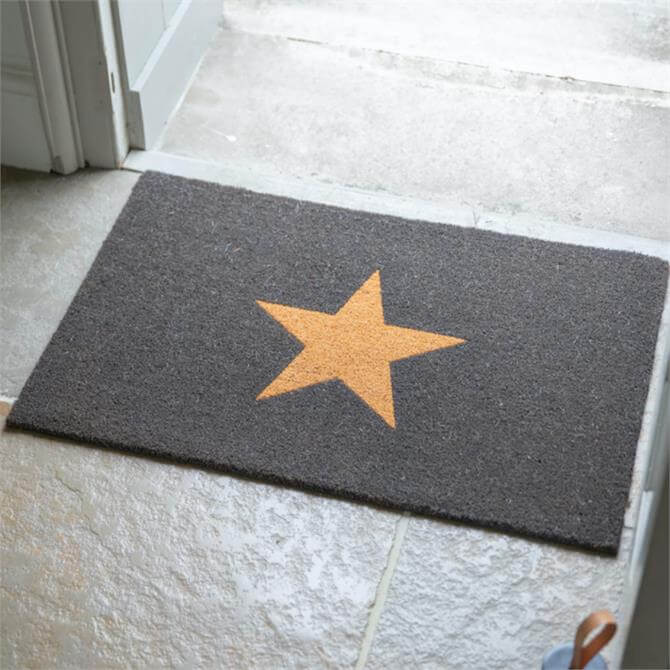 DNPL Garden Trading Coir Star Doormat