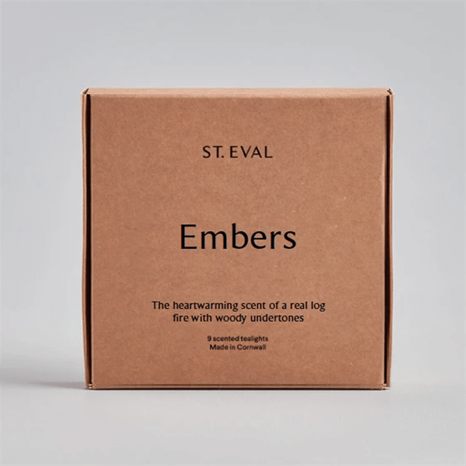 St. Eval Embers Scented Tealights