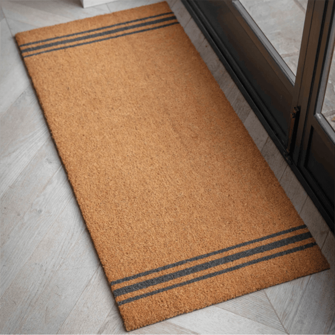 Garden Trading Triple Stripe Double Coir Doormat