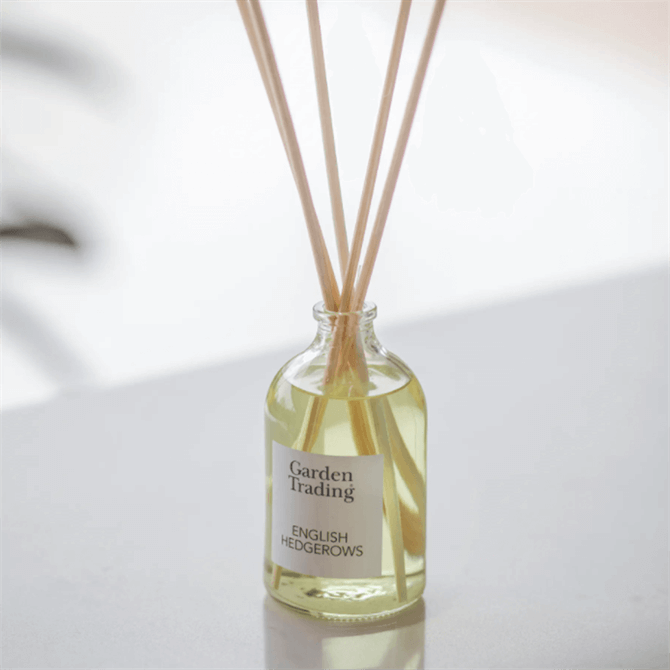 Garden Trading Clear Glass Diffuser English Hedgerow