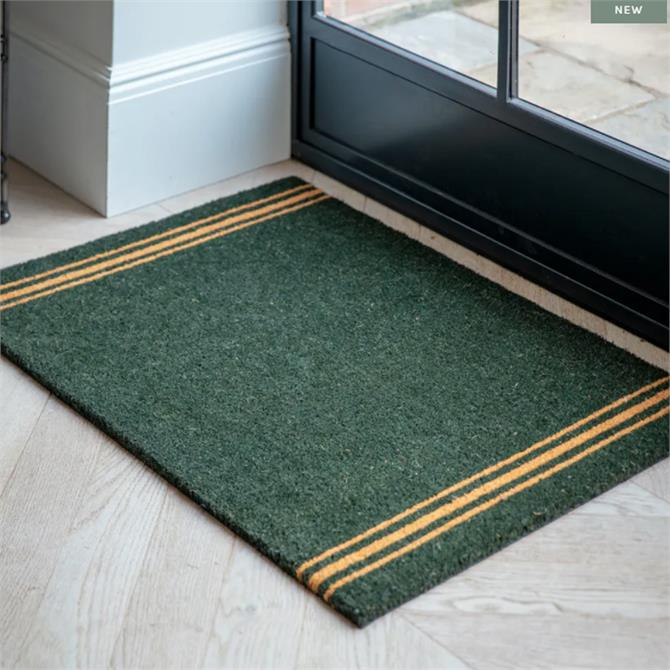 Garden Trading Forest Green Coir Doormat Large