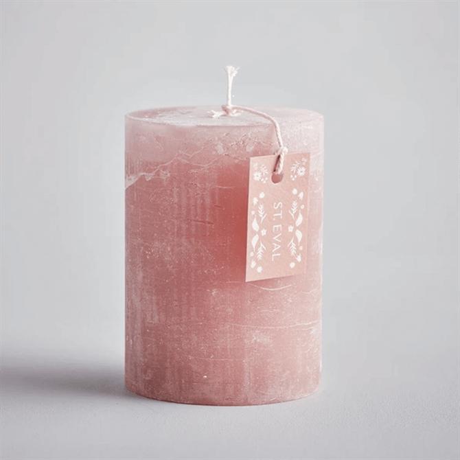 St.Eval Rhubarb Summer Folk Scented Pillar Candle