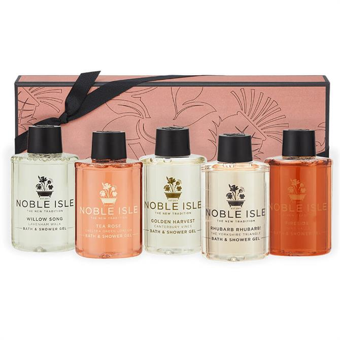 Noble Isle The Classic Collection Bath & Shower Gel Gift Set