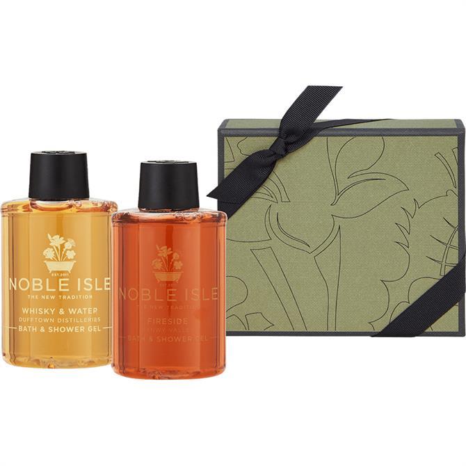 Noble Isle The Connoisseurs Cabinet Bath & Shower Gel Gift Set