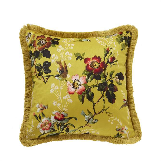 Oasis Leighton Ochre Cushion