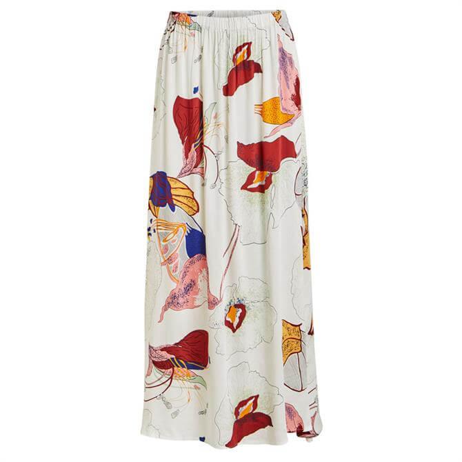 Object Amira Floressa Floral Maxi Skirt
