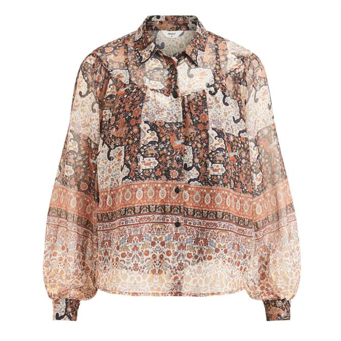 Object Arya Patterned Blouse