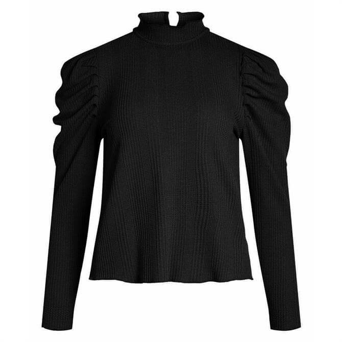Object Lecia Volume Sleeve Top