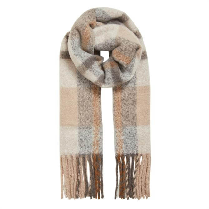 Object Mitta Check Scarf