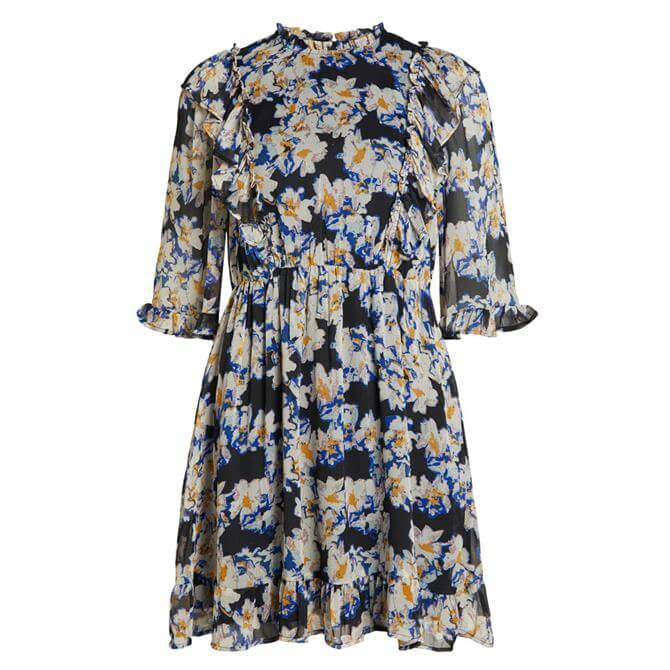 Object Sanni Floral Frill Dress