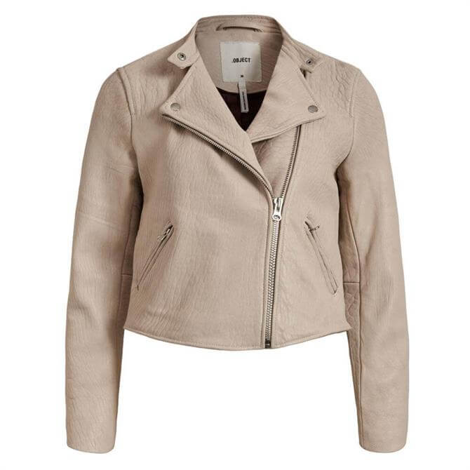 Object Sophie Bonita Leather Jacket