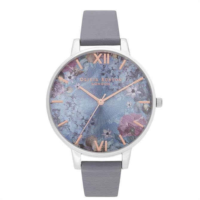 Olivia Burton Under The Sea Eco Friendly Deep Sea Blue & Silver Watch