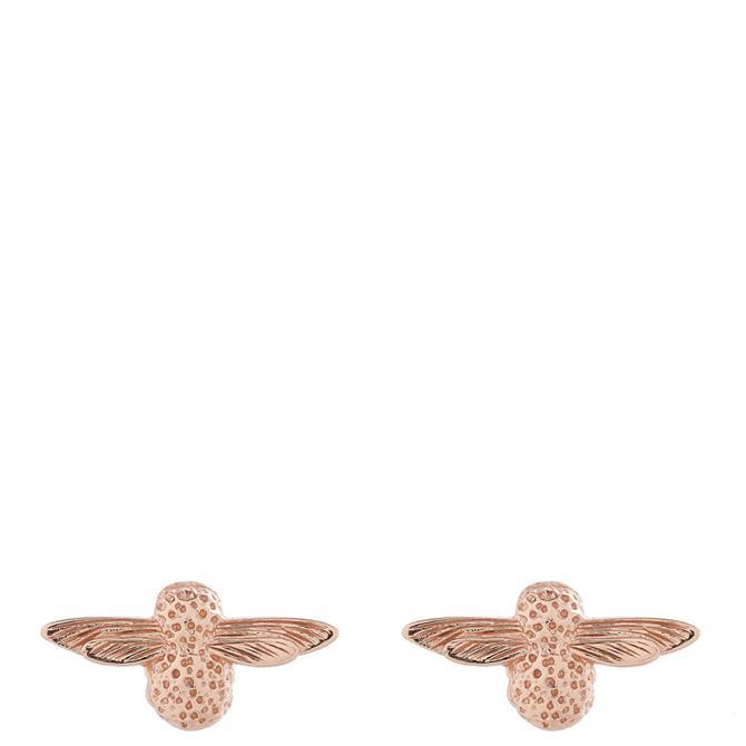 Olivia Burton 3D Bee Sterling Silver Stud Earrings
