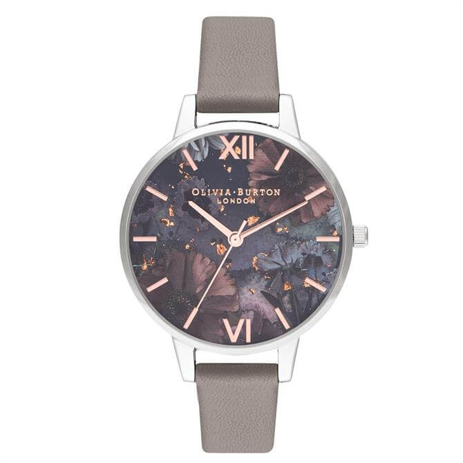 Olivia Burton Celestial Grey Demi Dial Watch
