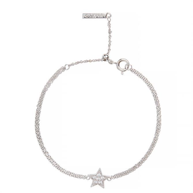Olivia Burton Celestial Star Silver Bracelet