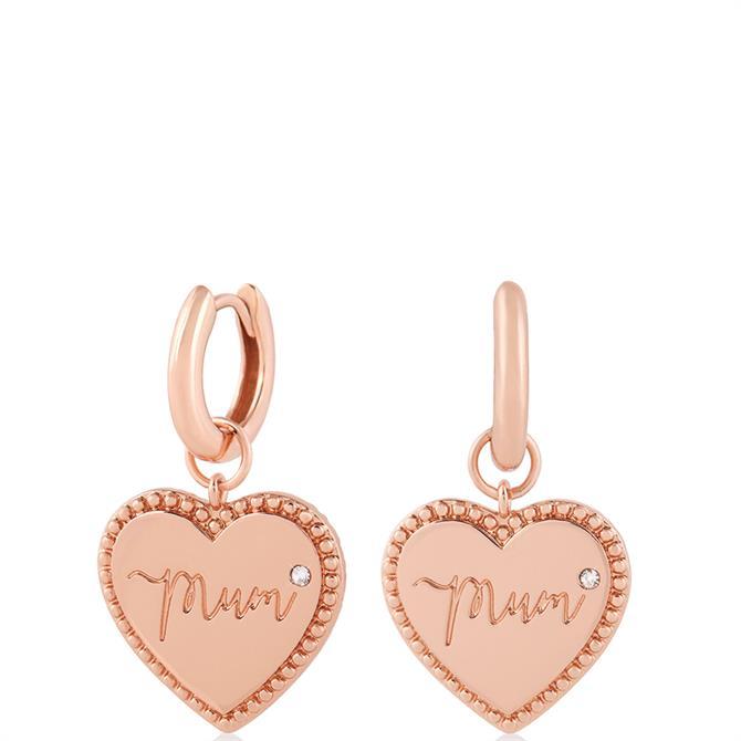 Olivia Burton Made for Mum Huggie Hoop Earrings