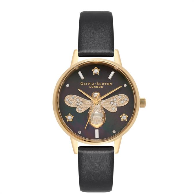 Olivia Burton Sparkle Bee Blush & Silver Watch