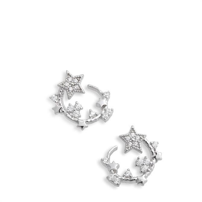 Olivia Burton Celestial Swirl Hoop Earrings