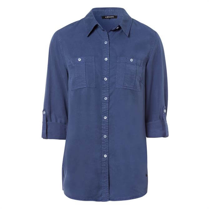 Olsen Classic Buttoned Camp Shirt