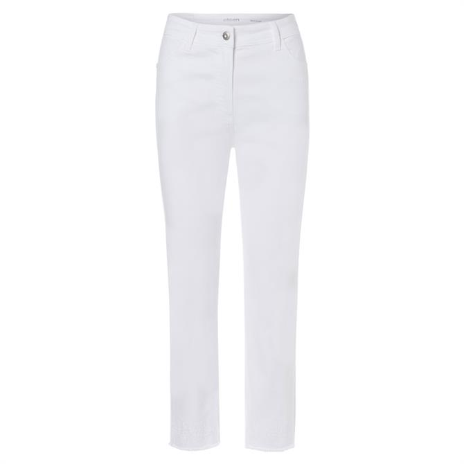 Olsen Cropped Denim Jeans