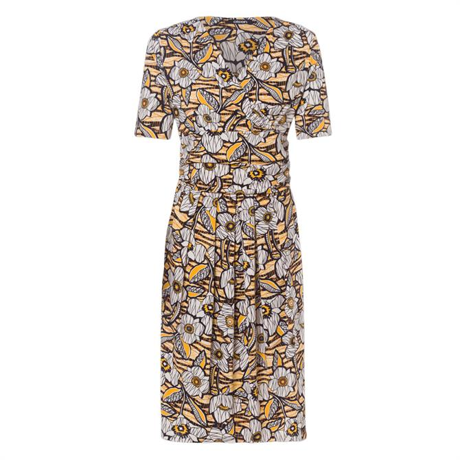 Olsen Floral Print Short Dress