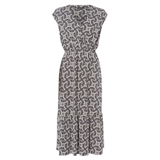 Olsen Abstract Print Maxi Dress