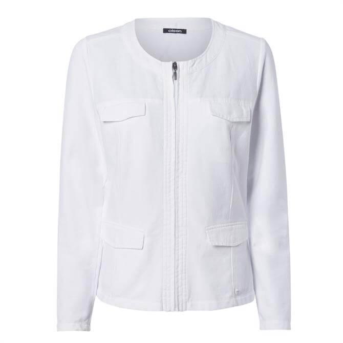 Olsen Zipped Pocket Jacket