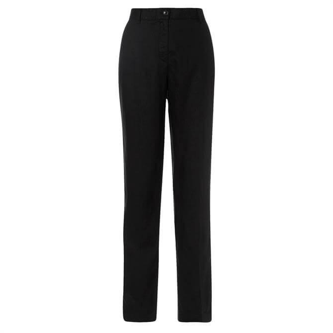 Olsen Classic Straight Fit Linen Trouser