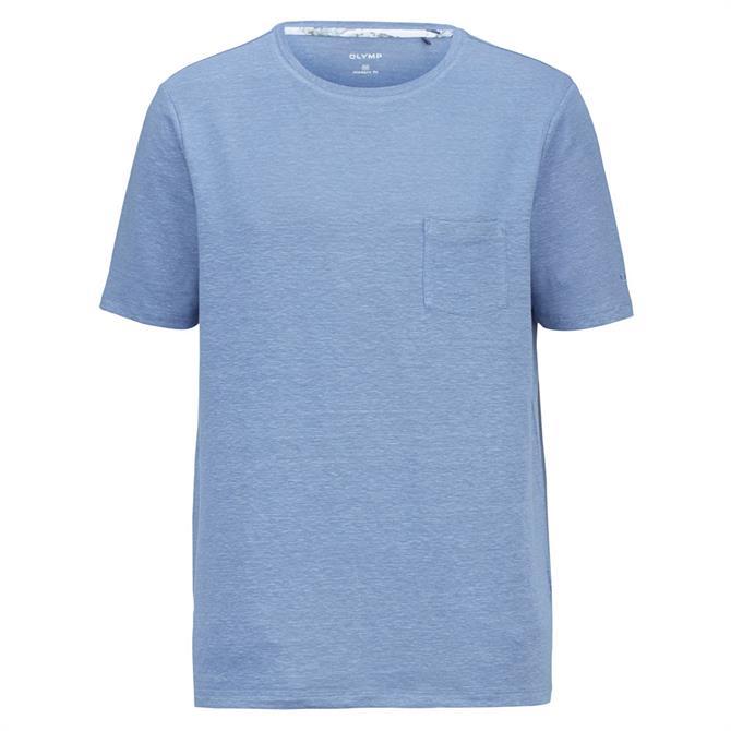 OLYMP Casual Linen Blend T-Shirt