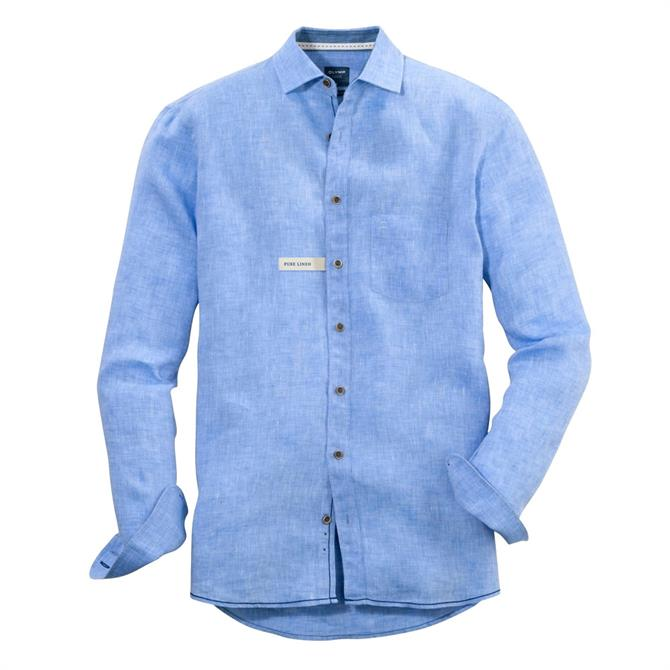 OLYMP Casual Modern Fit Linen Shirt