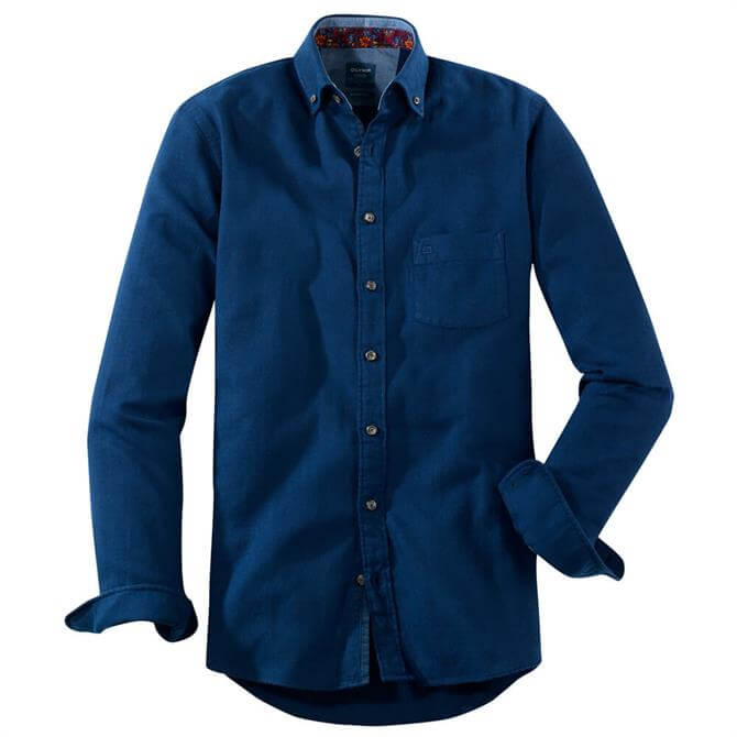 OLYMP Casual Modern Fit – Button Down - Marine
