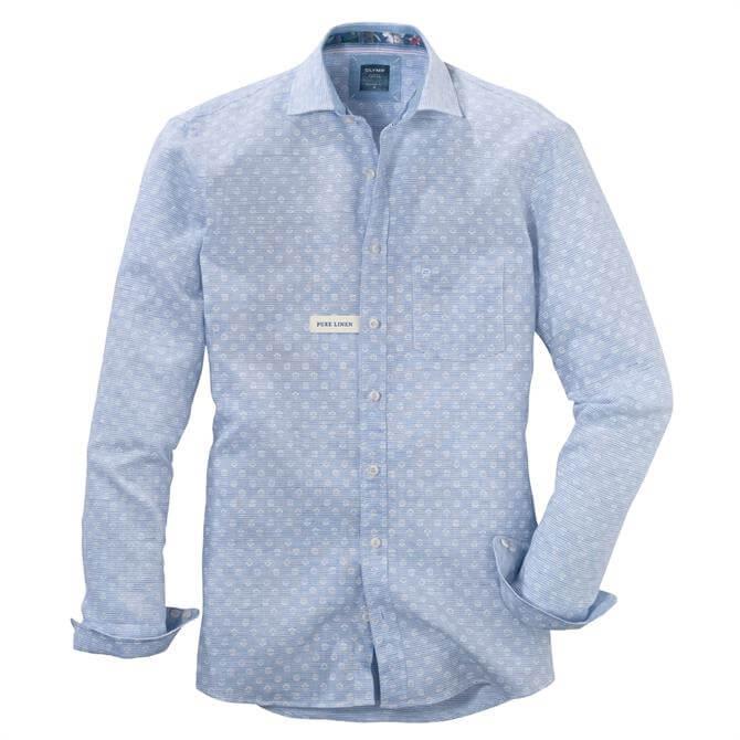 OLYMP Men's Kent Kragen Shirt